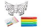 Igračka za bojanje; leptir Dranimal